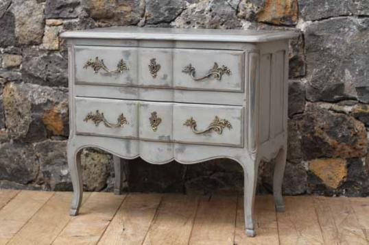90-38 - Louis XV Painted French Commode