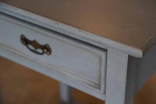 Painted Bedside Cabinets in French Grey