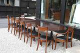 90-46 - Regency Triple Pedestal Dining Table