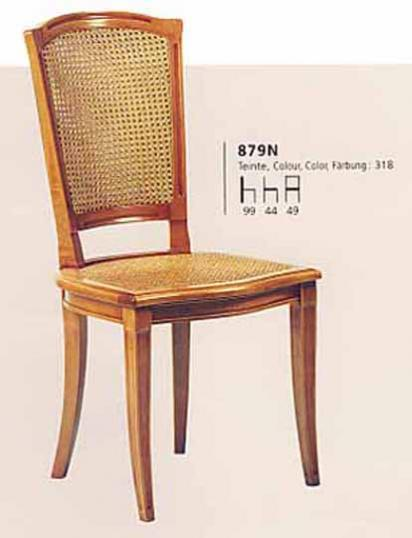 Cane back, directoire dining chair