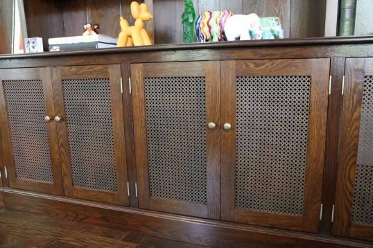 Large Wetherby George Bookcase with Cupboards