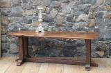 91-28 - English Oak Period Refectory Table