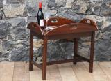 91-45 - Mahogany Butlers Tray on Stand