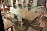 91-48 - French Oak Driftwood Colour Dining Table