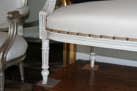 French Antique Louis XV Two Seater Couch Frame
