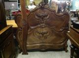 91-61 - Antique French Walnut Bed