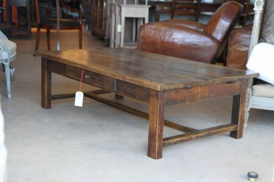 John stephens french walnut coffee table for Coffee tables auckland new zealand