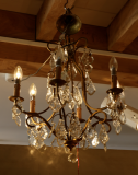 91-78 - French Six Light Chandelier