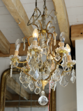 91-79 - French Chandelier with Six Lights