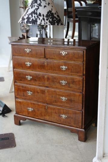94-37 - Walnut Chest of Drawers