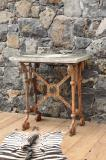 94-35 - Coalbrookdale Cast Iron Side Table