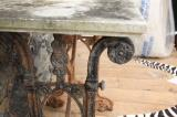 Coalbrookdale Cast Iron Side Table