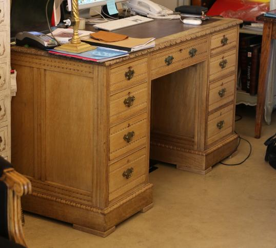 9-55 - Desk or Library Writing Table