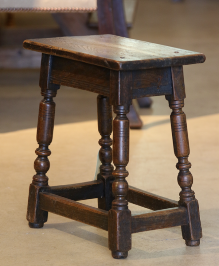 English Jointed Stool