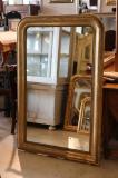 95-98 - Louis Philippe Gilt Engraved Mirror