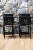 95-99 - French Empire Bedside Tables