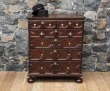 96-15 - Jacobean Chest of Drawers