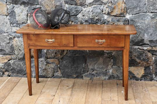 96-19 - French Cherrywood Side Table