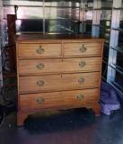 96-23 - George II Mahogany Chest of drawers