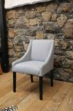 96-24 - French Tapered Legged Arm Chair