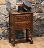 3734 -  Jacobean Style English Oak Side Table