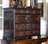 96-36 - Jacobean Chest of Drawers