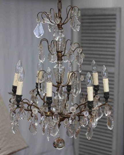 8 Light French Chandelier
