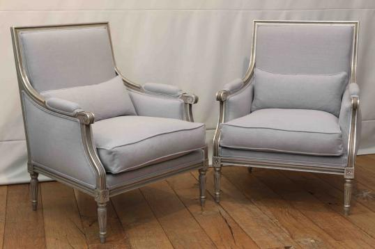 96-62 - Louis XVI French Armchairs