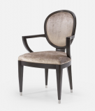 96-85 - Moderne Spoon Backed Chair