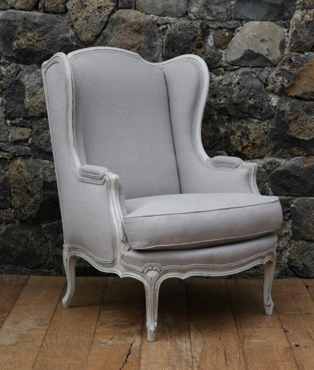 Louis XV Style Wing Chair. «