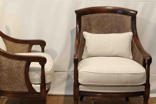 Etonnant Cane Bergere Chair