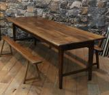 97-82 - Oak French Provincial Dining Table