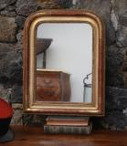 98-04 - Small Louis Philippe Gold Mirror
