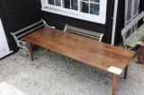 98-23 - Large Chestnut Dining Table