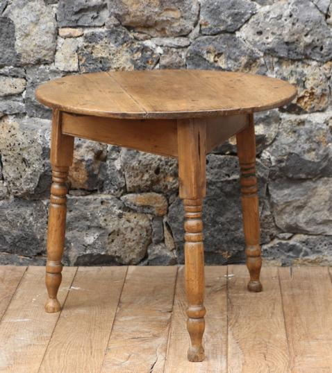 Victorian Pine Cricket Table