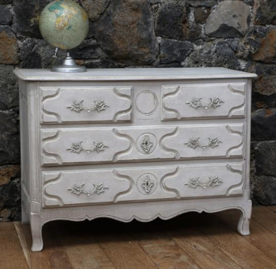 Gustavian Painted Commode