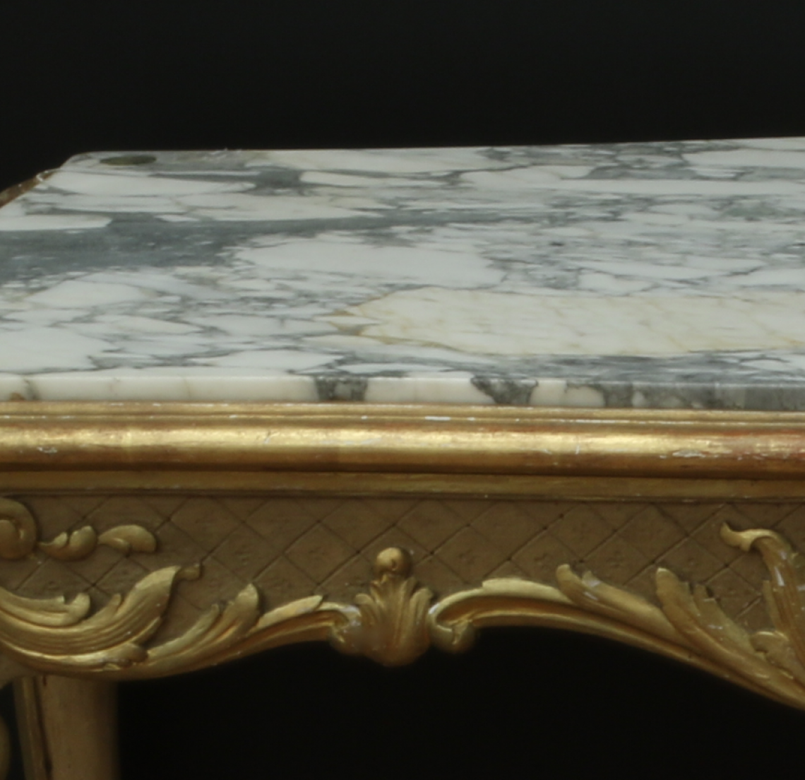 Gold Louis XV Console