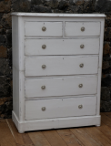 99-15 - English Pine Painted Chest of Drawers
