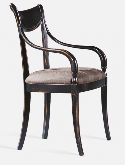 Directoire Style Chairs - Carver & Side Chair