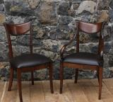 99-37 - Directoire Style Chairs - Carver & Side Chair