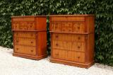 99-57 - A Pair of Colonial Kauri Chests