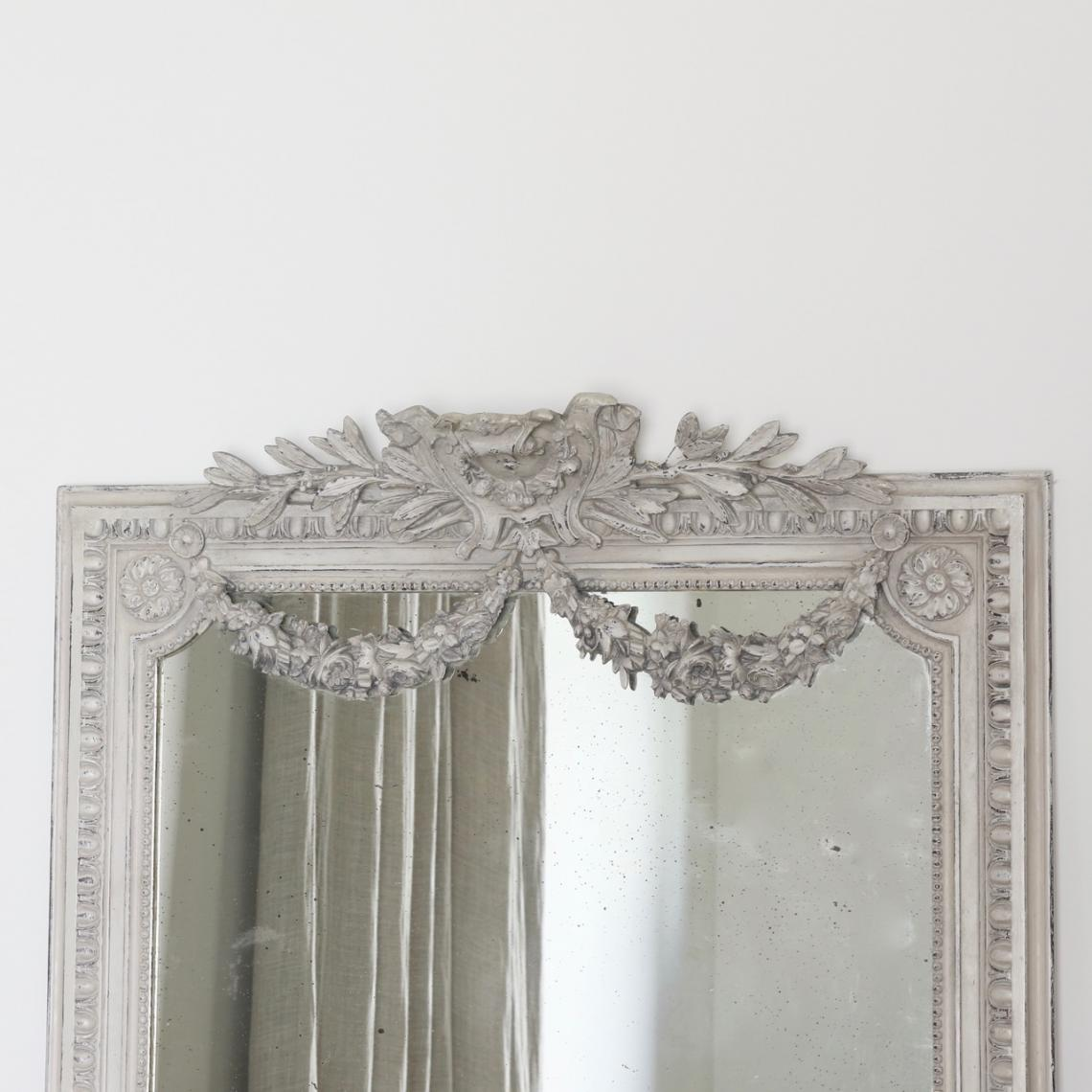 Painted French Mirror