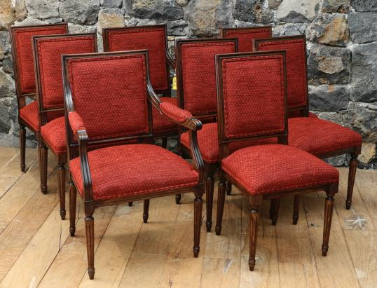 99-86 - Louis XVI Style Dining Chairs