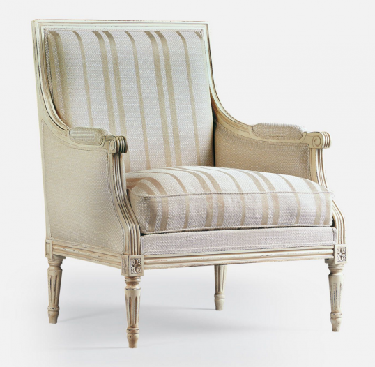 Louis XVI Closed Armchair