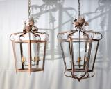 99-92 - Large Italian Indoor / Outdoor Lanterns