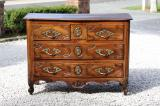 99-94 - Spectacular Period Walnut Louis XIV Commode