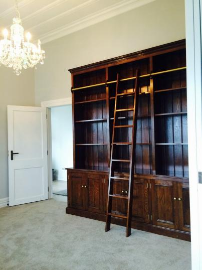 Recently Completed Weatherby George Bookcases