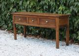 100-35 - Three Drawer Side Table