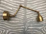100-52 - French Brass Wall Light