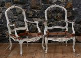 100-66 - Pair of Louis XV Armchairs